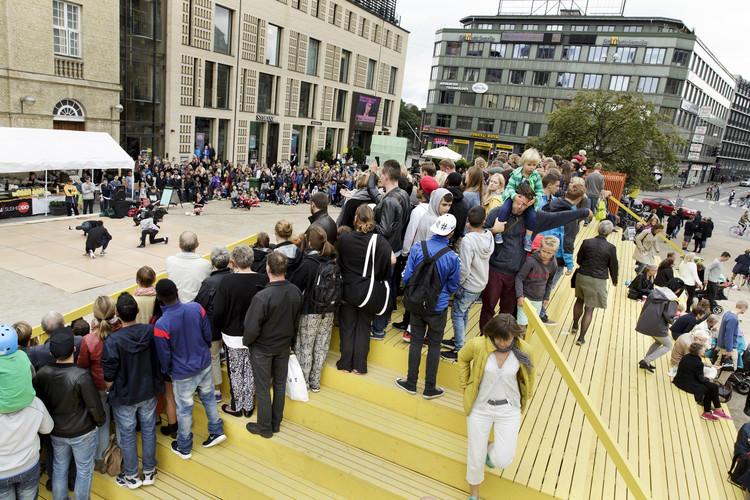 The Plaza / Schønherr. Image © Martin Dam Kristensen for Aarhus Festival
