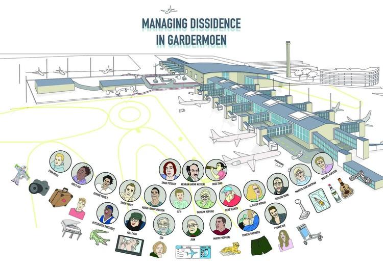 'Managing Dissidence'. Image Courtesy of OTA