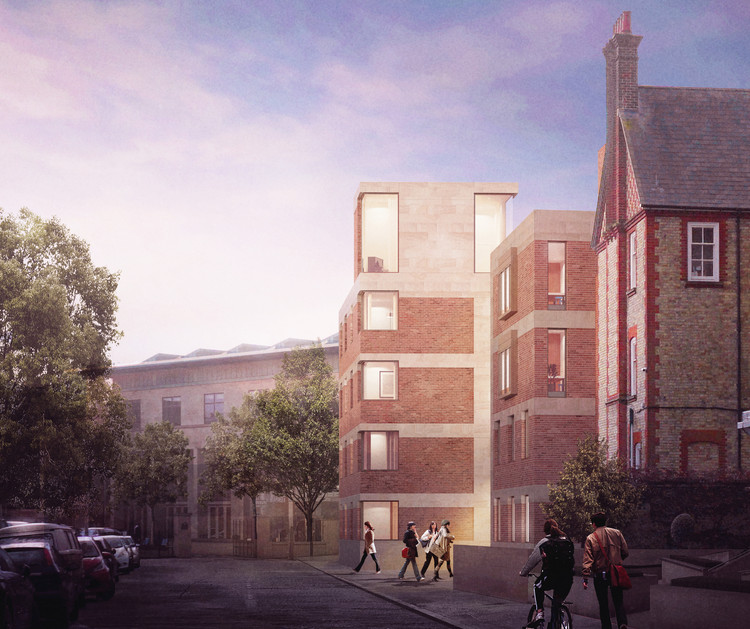 Oxford Unveils 5 Proposals Seeking to Overhaul St Hilda's College, Tim Ronalds Architects. Image Courtesy of Malcolm Reading Consultants