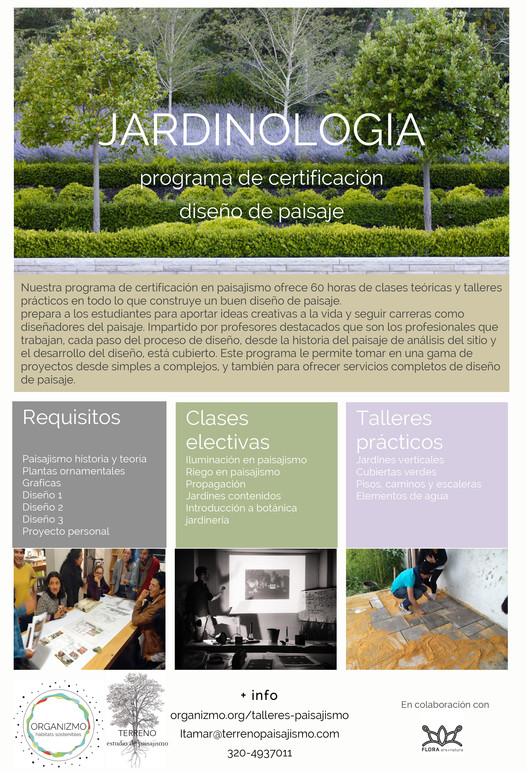 Organizmo: Diplomado de Jardinología en diseño de paisaje ...