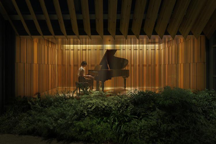 Steinway & Sons Showroom / OgataYoshiki + SALT + IkawaAtsushi + WataseIkuma, Courtesy of OgataYoshiki+SALT