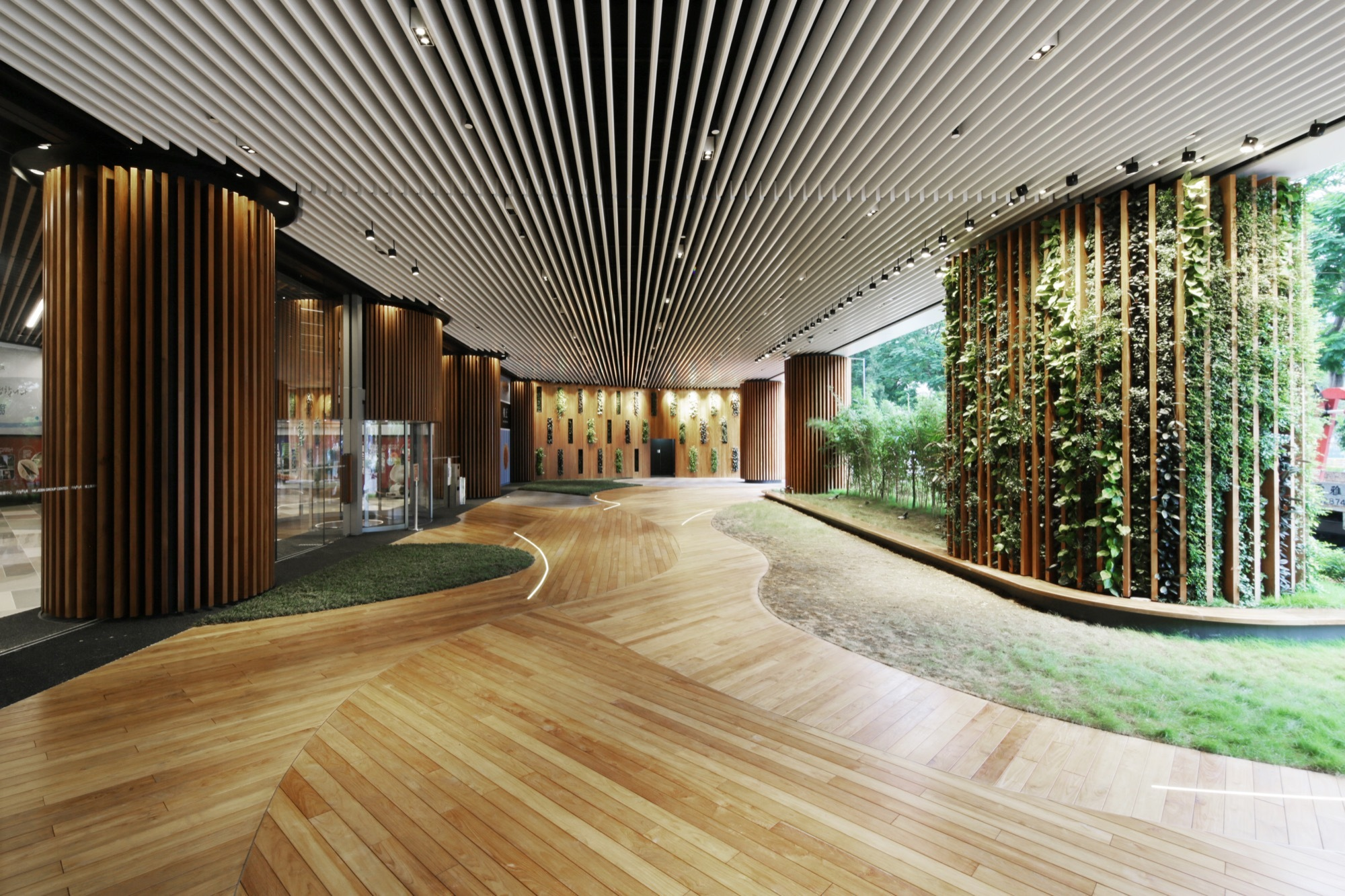 Office lobby 4n design architects archdaily for Architecture office design