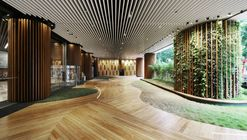 Office Lobby / 4N design architects
