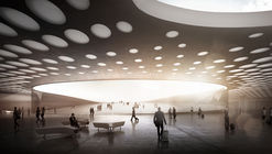 WALL Designs New Paveletskaya Transit Hub for Moscow