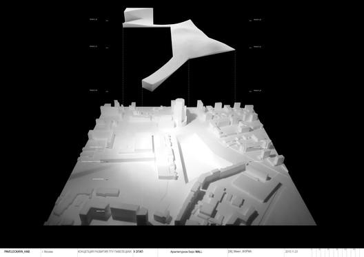 Architect news u2014 wall designs new paveletskaya transit hub for