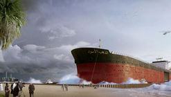 Dutch Designers Propose Ways of Transforming Decommissioned Oil Tankers Into Tiny Cities
