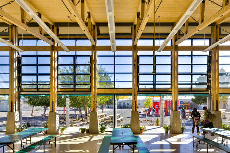 Cottonwood Valley Charter School E-Pod; Socorro / Environmental Dynamics, Inc. Imagen © Patrick Coulie Photography