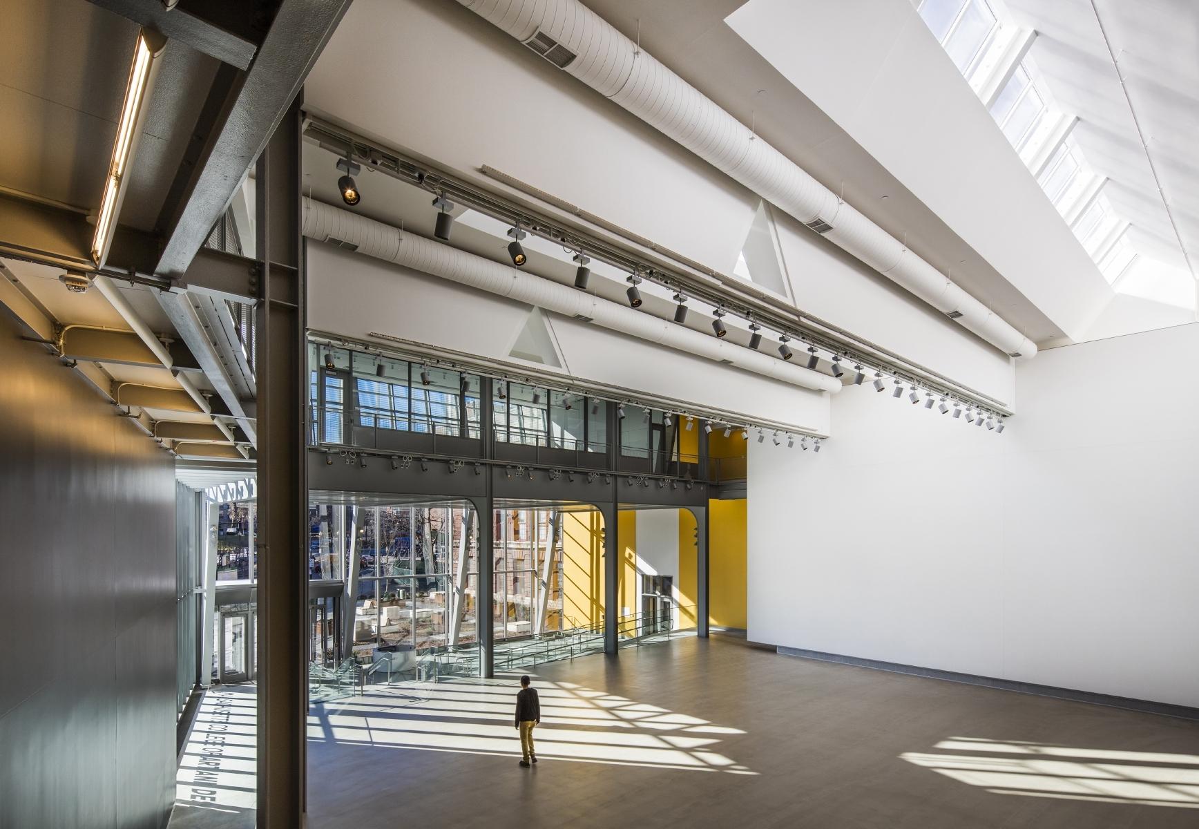 Massachusetts college of art and design ennead Escuela arte 4 diseno de interiores