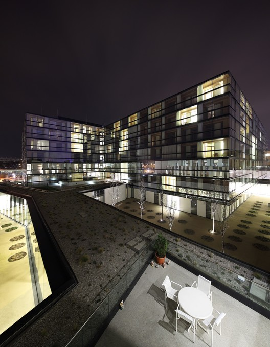 Geriatric Centre Donaustadt Vienna / Delugan Meissl Associated Architects