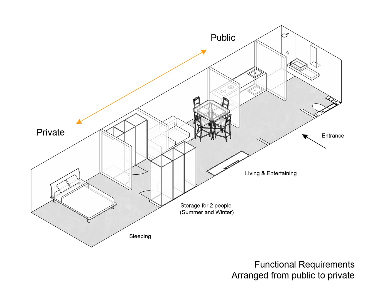 Apartment Design Requirements gallery of the folded apartment / more design office - 20
