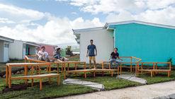 """Taller """"Entre Comunidad"""": estudiantes construyen espacios recreativos en Costa Rica"""