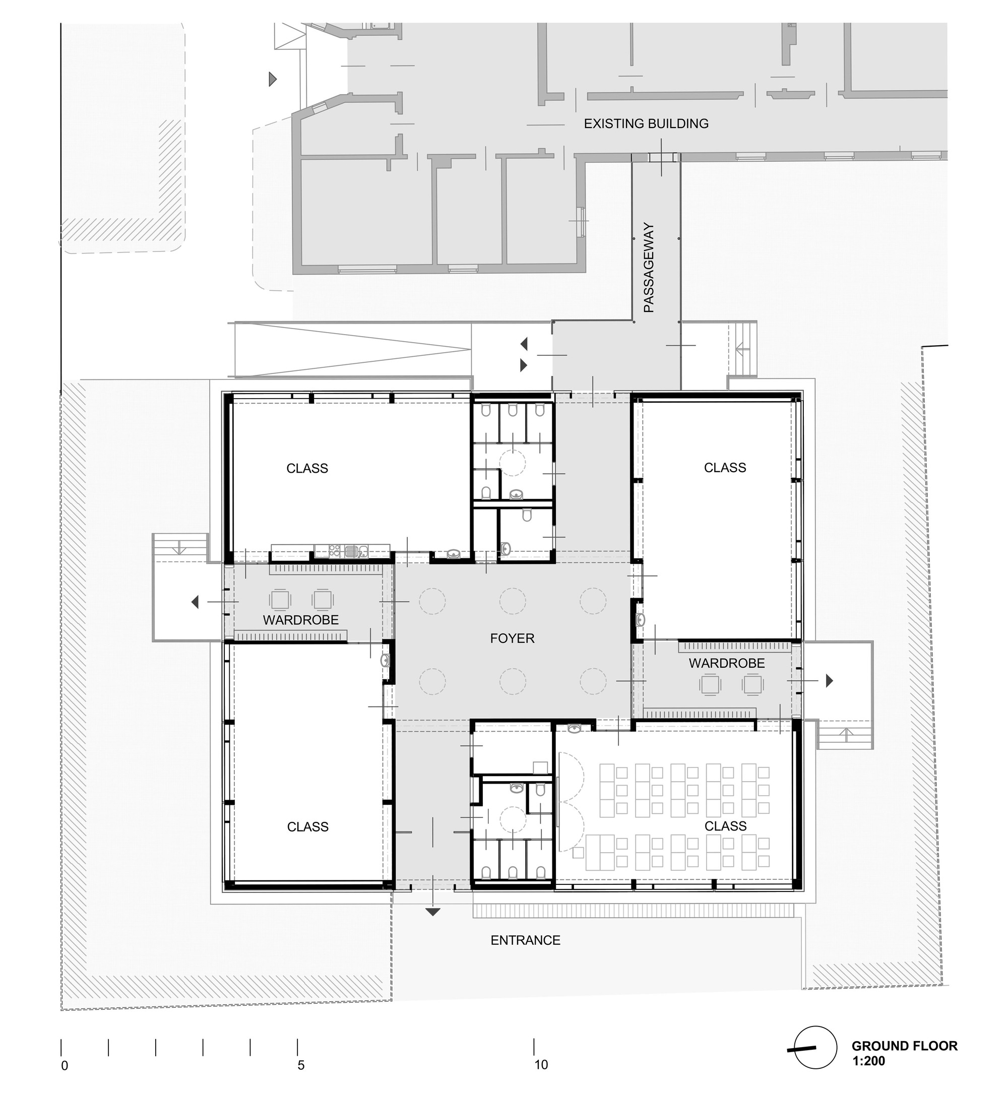 Architecture Elementary School gallery of elementary school baslergasse / kirsch architecture - 14