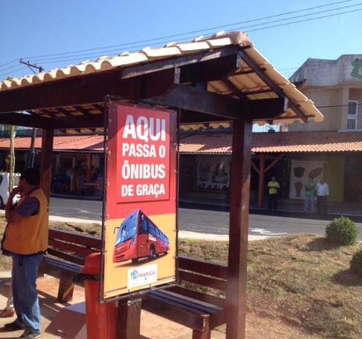 Maricá-RJ, primeira cidade brasileira a implementar transporte público gratuito.. Image via Cartacampinas