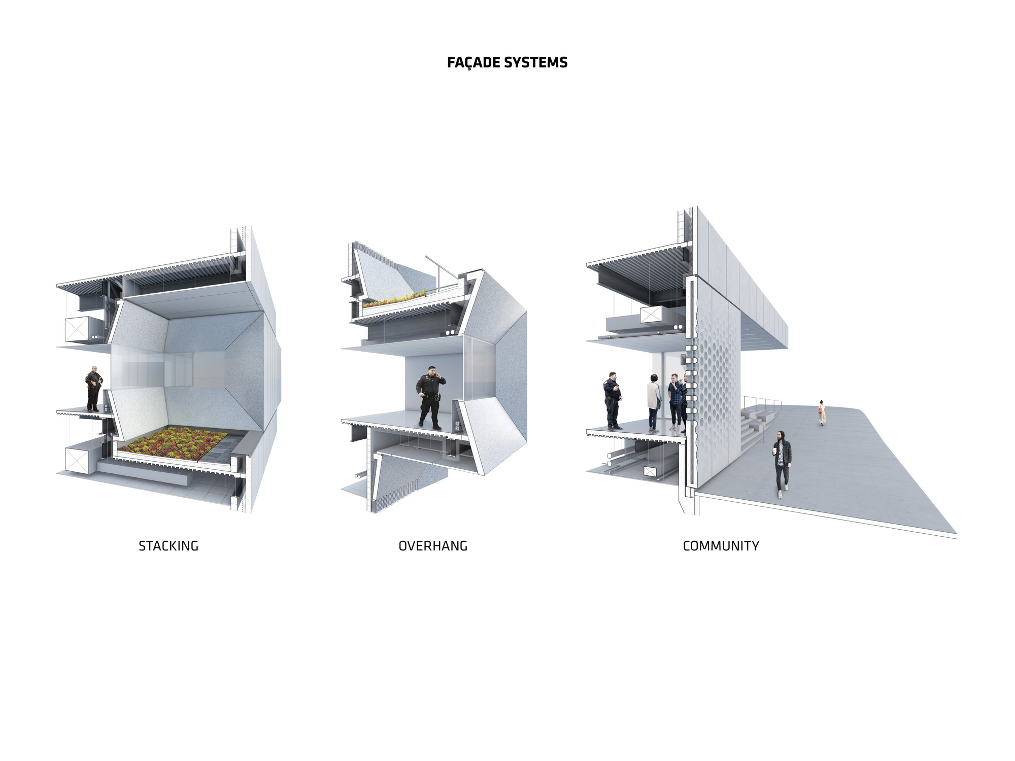 Vitra Fire Station Floor Plan Gallery Of Big Designs Bronx Station For New York Police
