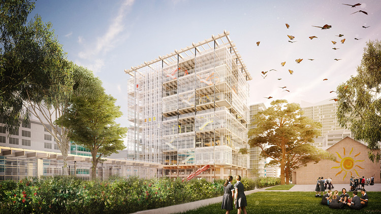Grimshaw and BVN to Design Parramatta's First High-Rise Public School, Courtesy of Grimshaw + BVN
