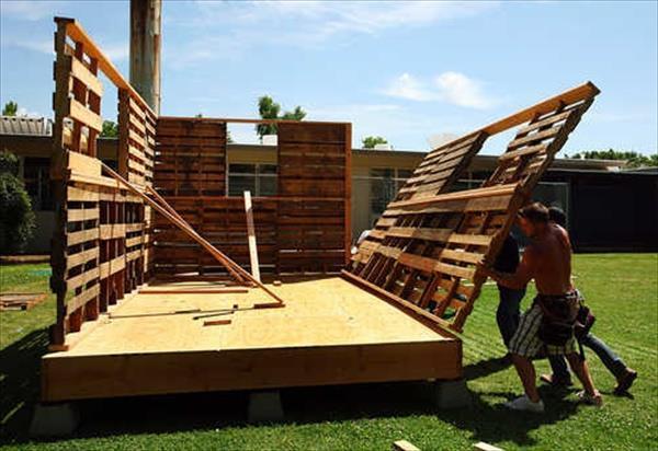 C mo construir una casa de palets plataforma arquitectura for Plataforma de arquitectura