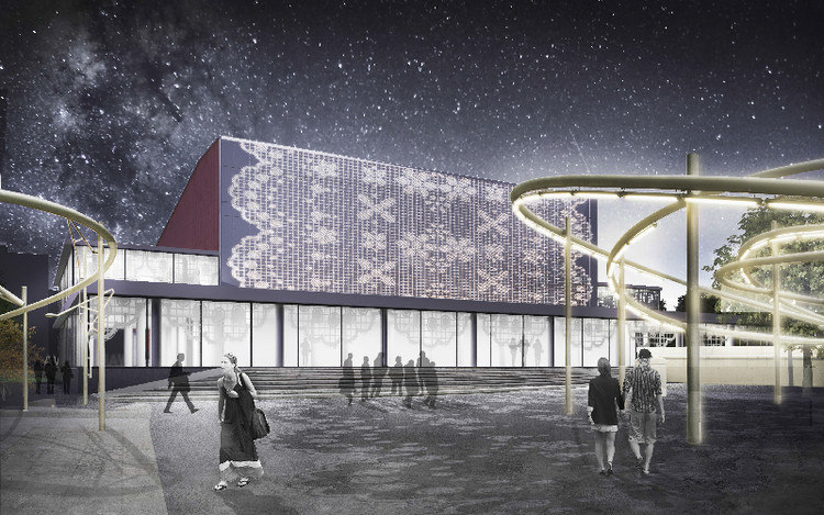 Varshava / Spektrum Consortium + EMBT + A2OM. Image Courtesy of the Architectural Council of Moscow