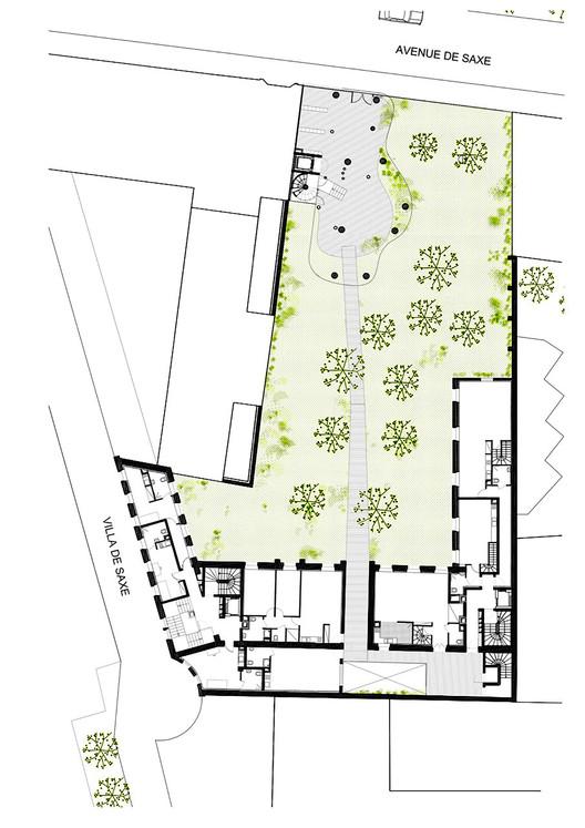 Planta patio