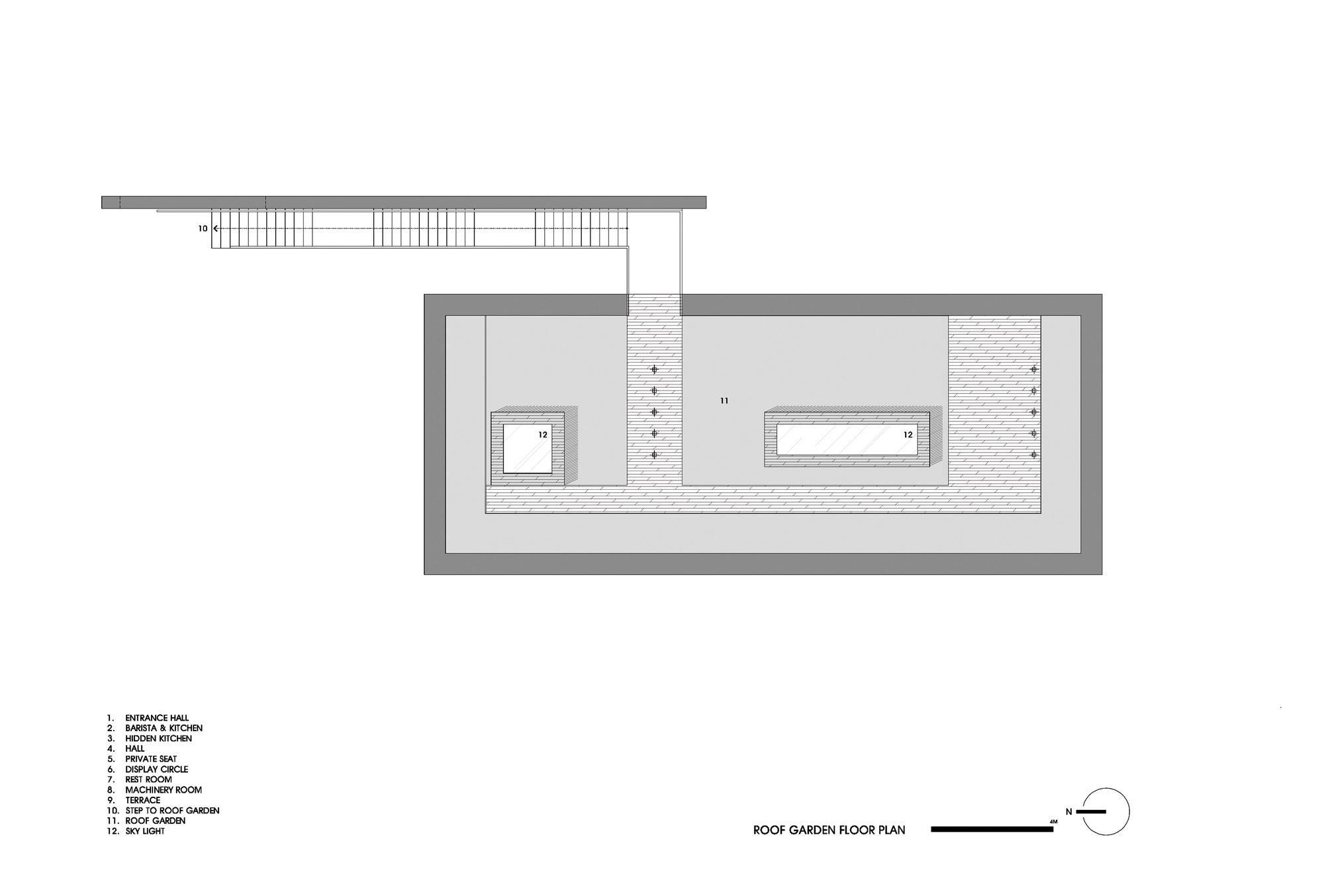 gallery of platform monsant platform a 15 roof plan
