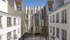 25 rue Michel le Comte Social Housing / Atelier du Pont