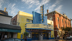 Call for Entries: Facade Design for Additions to County Theater, Doylestown