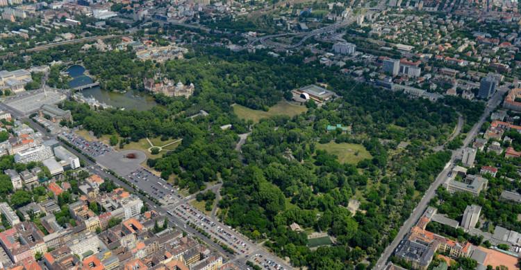 Városliget (City Park). Image © Liget Budapest