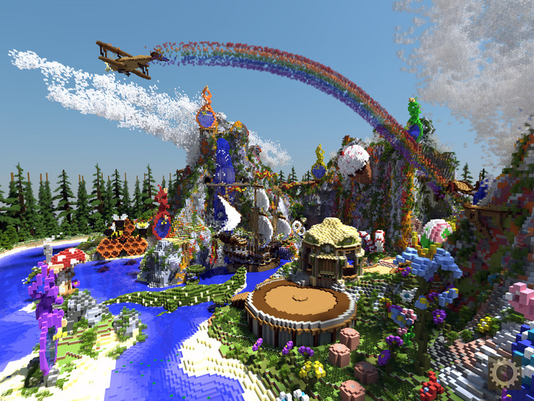 A Neverland-themed build. Image Courtesy of BlockWorks