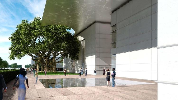 Heyman Plaza. Image © Foster + Partners