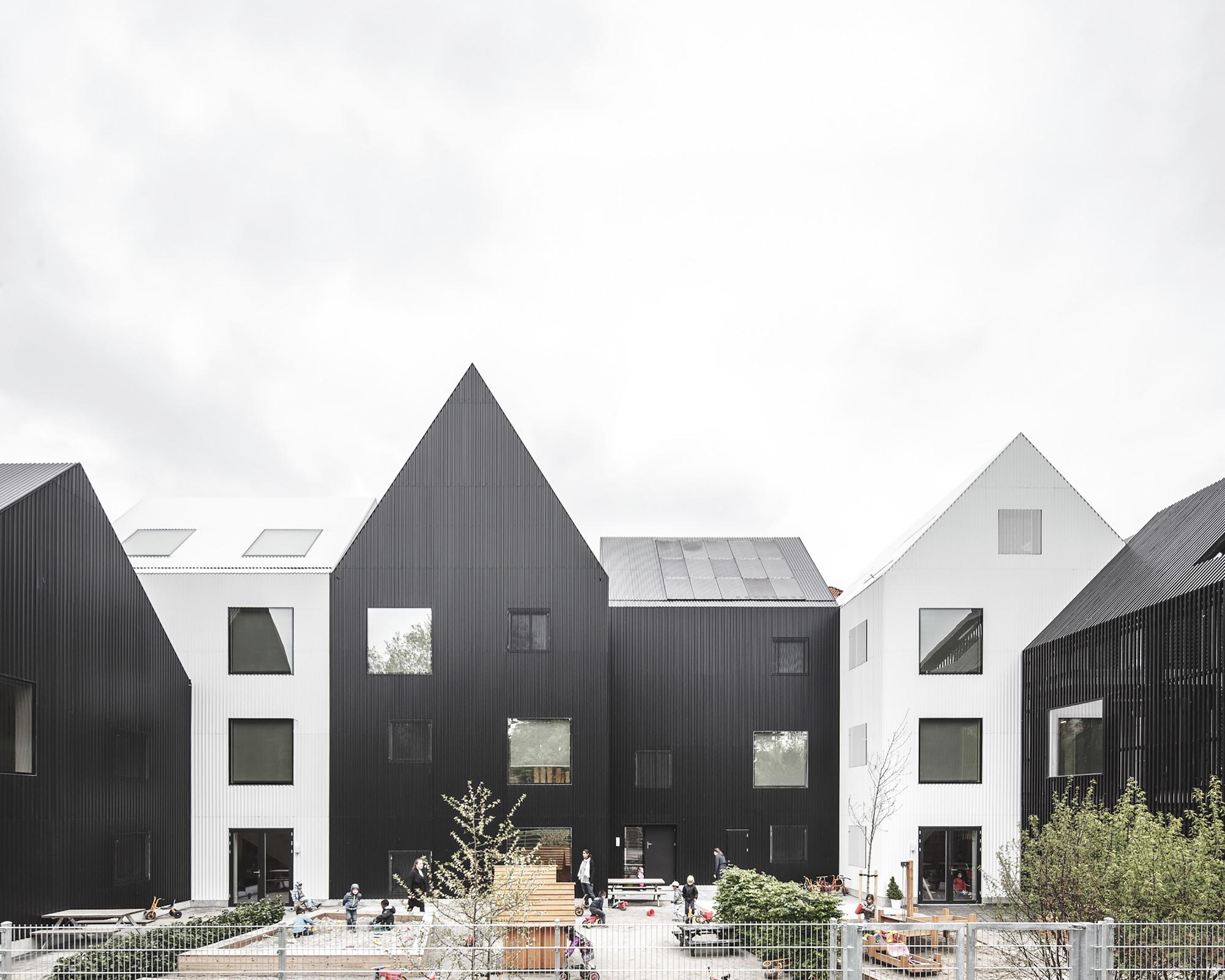 Frederiksvej kindergarten cobe archdaily for Archdaily com