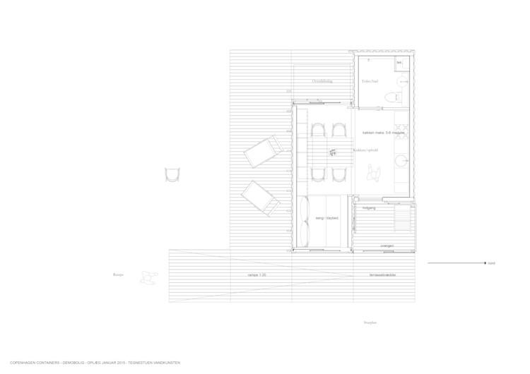 Prototype (plan): CPH Shelter, Copenhagen