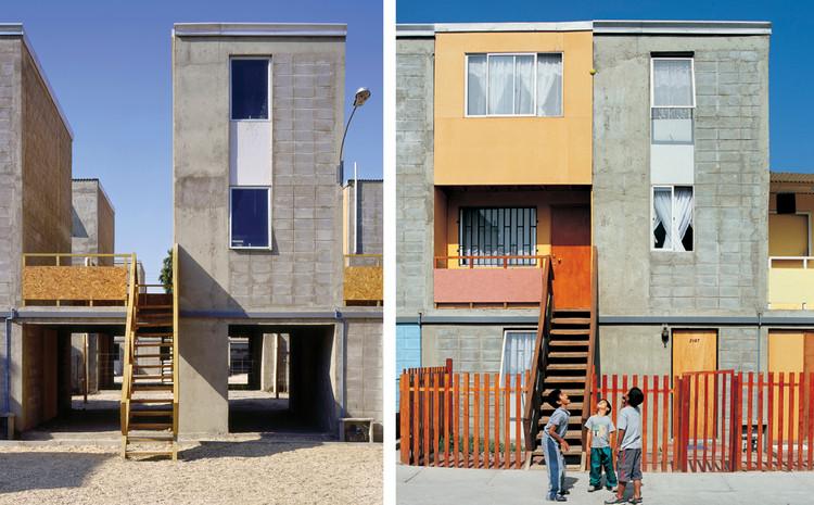 El premio Pritzker y la continuidad de la política habitacional subsidiaria, Quinta Monroy (2004) / Iquique, Chile. Image © Cristobal Palma / Estudio Palma