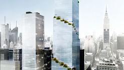 Con este rascacielos, BIG pretende extender el High Line de Nueva York