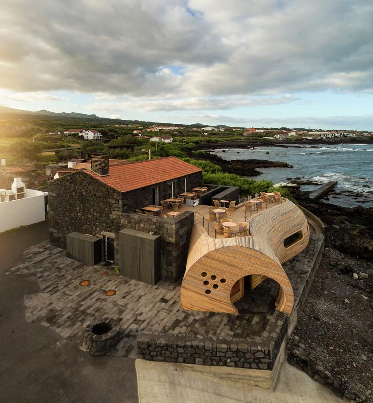 Winner in the Hospitality Architecture Category. Cella Bar - FCC Arquitectura + Paulo Lobo. Image © Fernando Guerra   FG+SG
