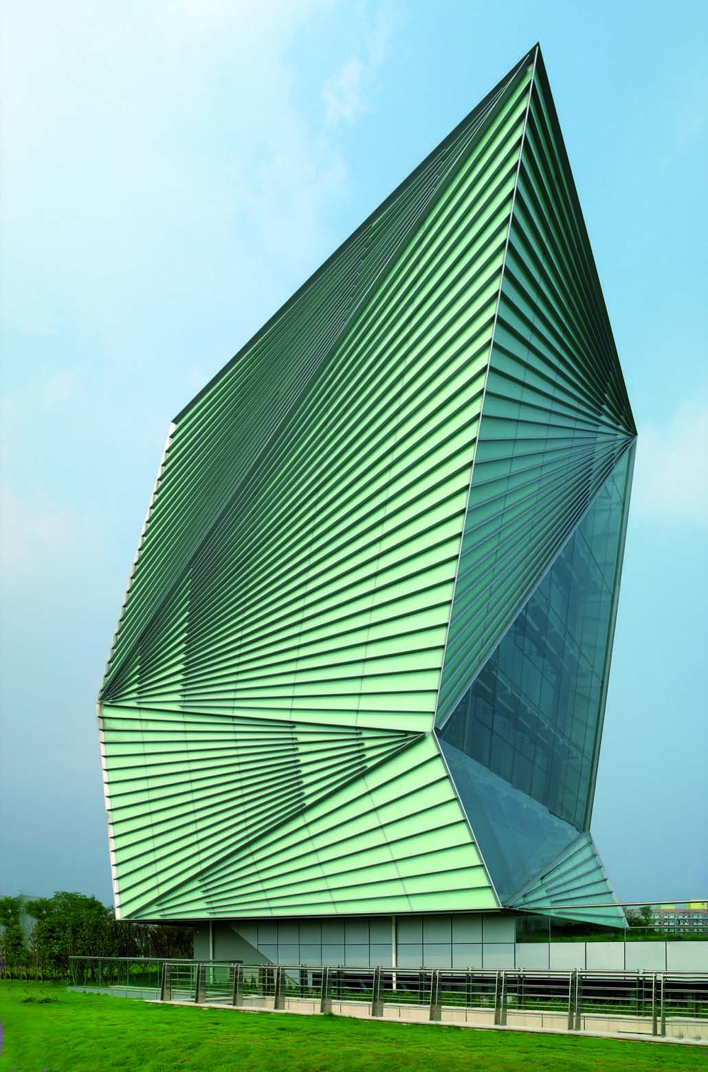 Centre for sustainable energy technologies mario for Cucinella architects