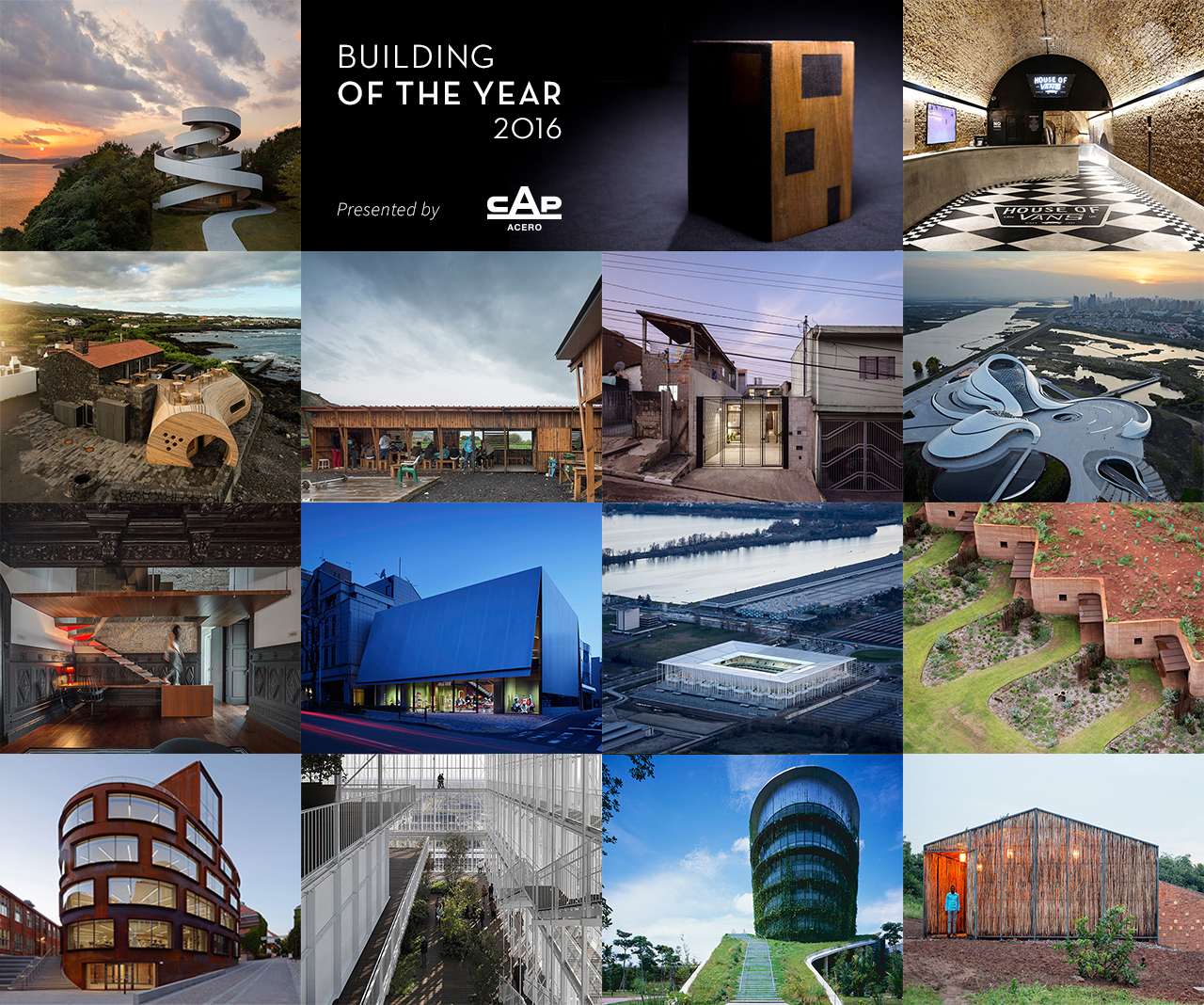 Winners of the 2016 Building of the Year Awards