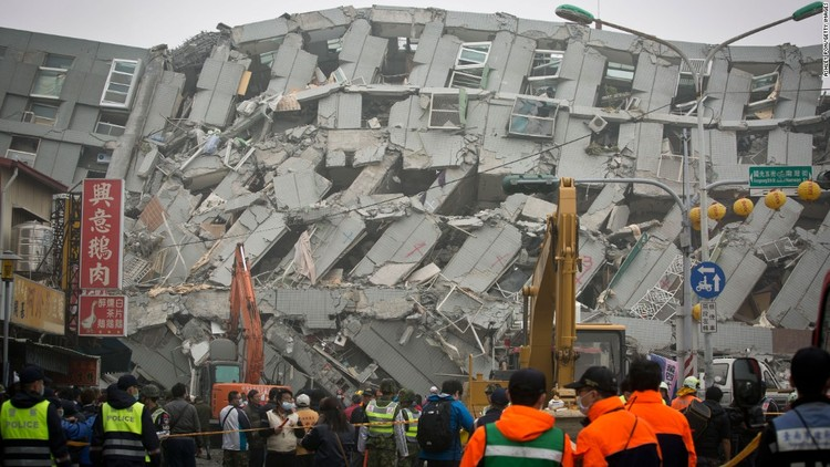 Empty Oil Cans May Not Be the Reason for Tainan Building Collapse, via CNN