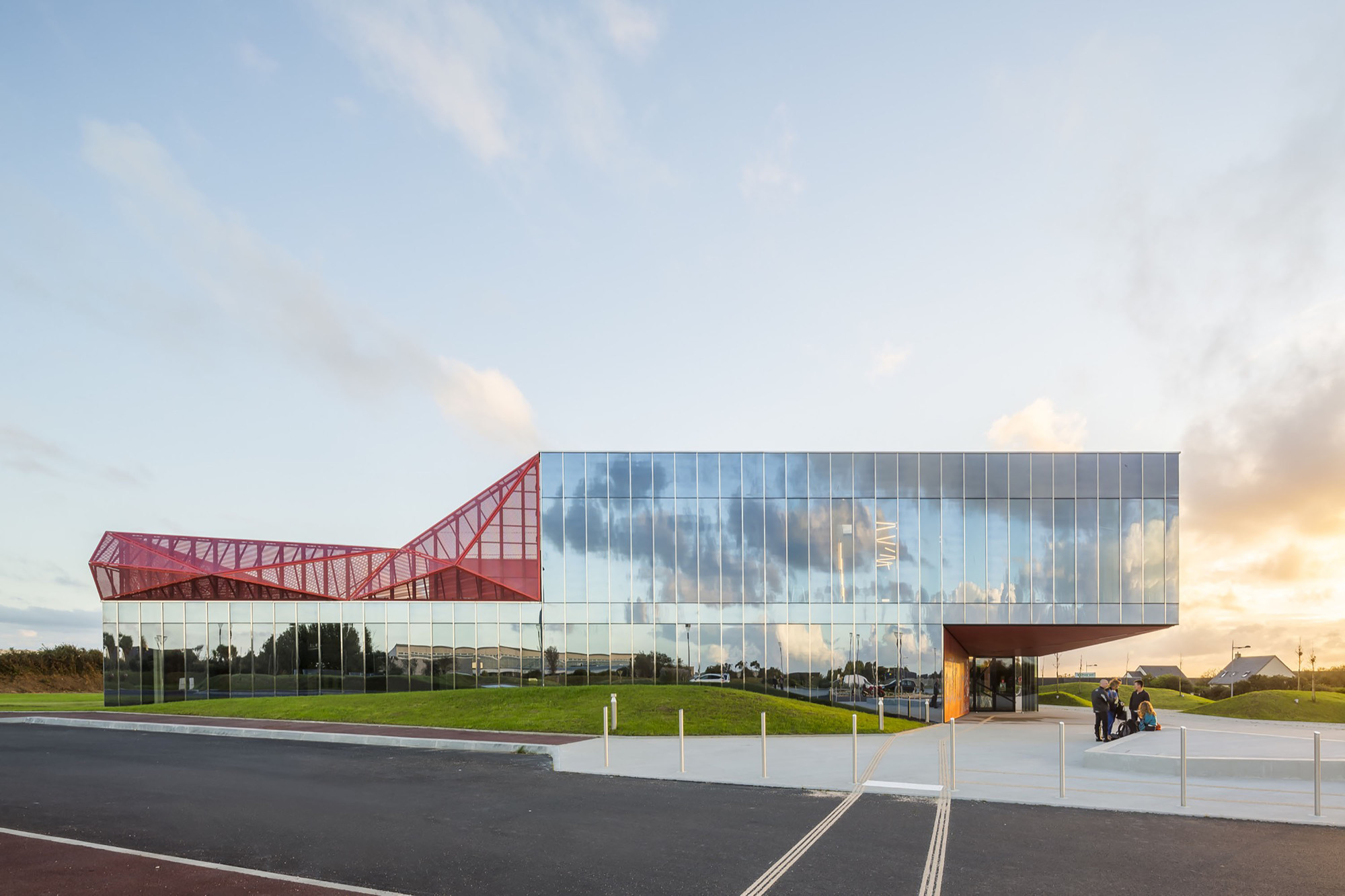 Espace Culturel De La Hague Peripheriques Architectes