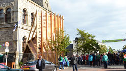 NósWorkshop Designs Temporary Stage for Fleadh Cheoil Irish Music Festival