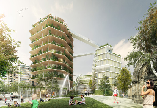 Jacques Ferrier Architecture Unveils Their Multi-Layered City Design for Reinventer.Paris