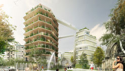 Jacques Ferrier Architecture, Chartier Dalix and SLA Architects Unveil Their Multi-Layered City Design for Reinventer.Paris