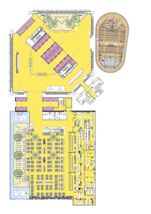 Sky Lobby Plan