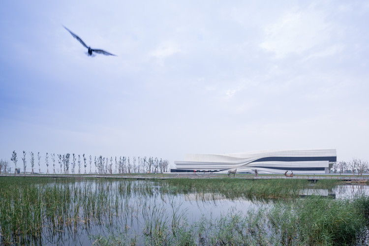 Yinchuan Museum of Contemporary Art (MOCA) / waa. Image Courtesy of AR