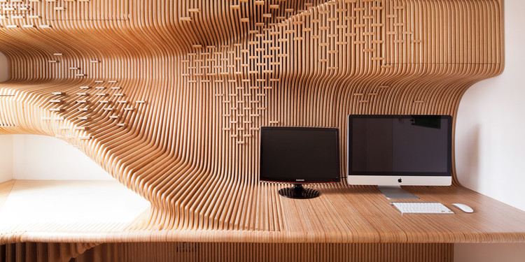 Chelsea Workspace. Image Courtesy of Synthesis Design + Architecture