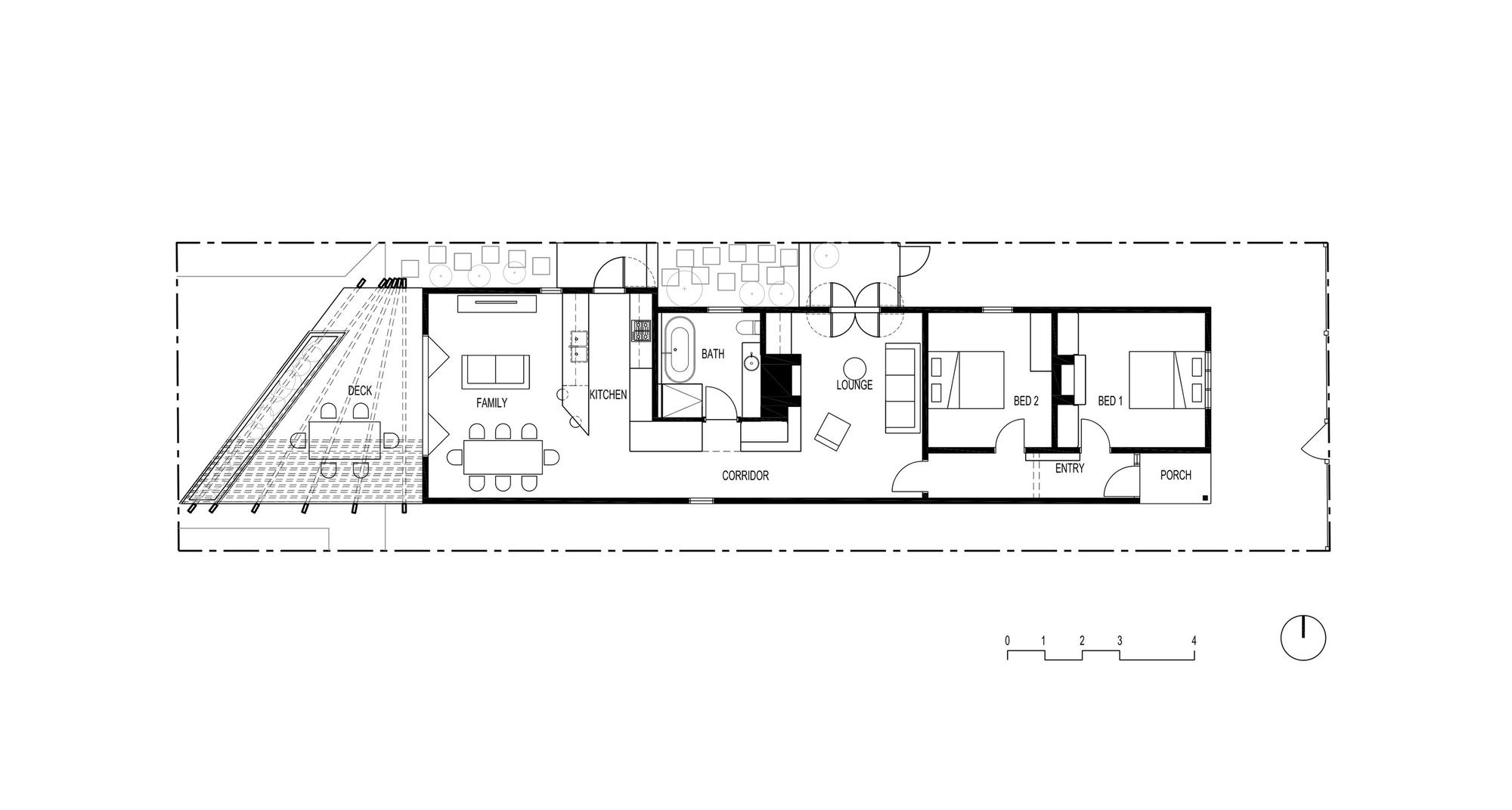 Gallery of Kelvin House fmd architects 13 # Plan De Terrasse En Bois