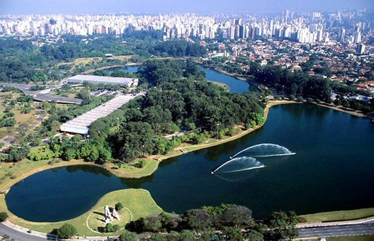Paulo Mendes da Rocha remodelará Parque Ibirapuera de São Paulo, Parque de Ibirapuera. Foto de divulgación.
