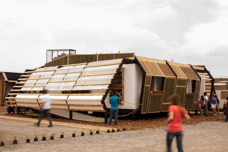 De la idea a la realidad: la construcción de AURA en el Solar Decathlon 2015, Cortesía de Equipo Híscali