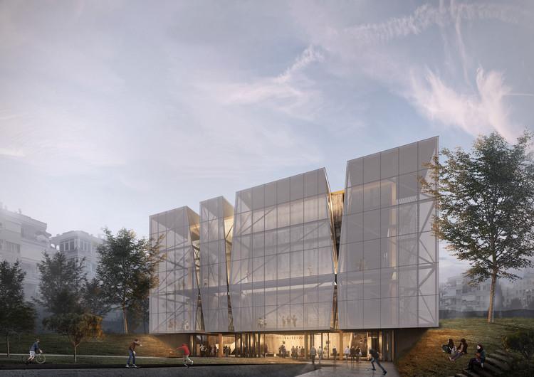 PARKOPERA, el nuevo centro cultural diseñado por Alper Derinboğaz (Salon) en Turquía, Cortesía de Alper Derinboğaz, Salon