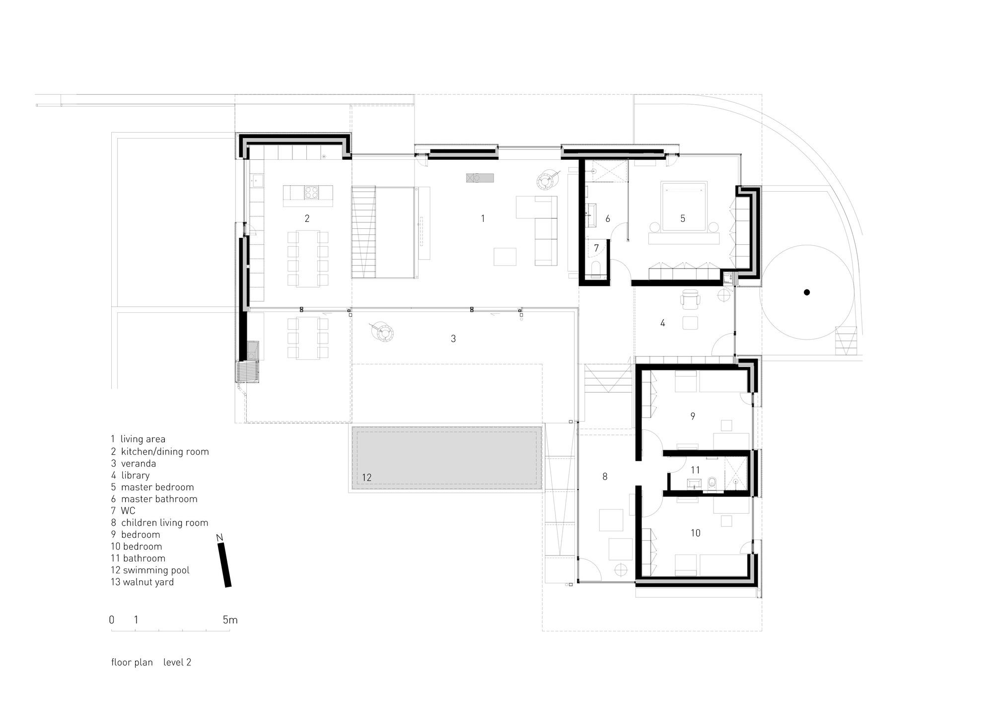 gallery of pagoda house i o architects 18 floor plan