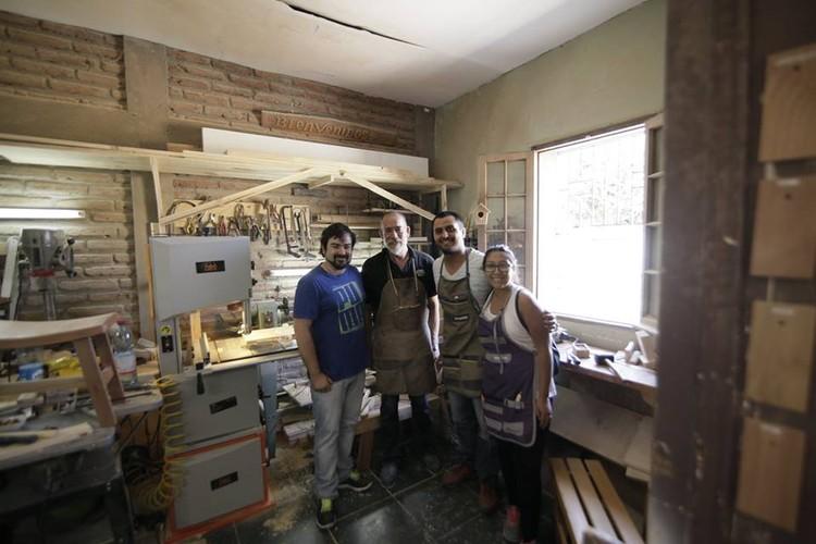 Taller de introducción a la Carpinteria / LOBO