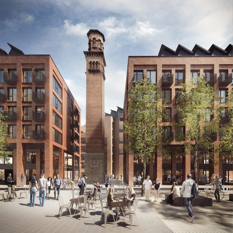 Jestico + Whiles Wins Approval for Tower Works Redevelopment in Leeds, © Forbes Massie, Courtesy of Jestico + Whiles